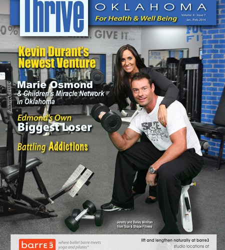 jeremy minihan featured in thrive magazine oklahoma