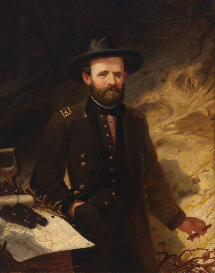 Ulysses S Grant Painting at PaintingValley.com | Explore