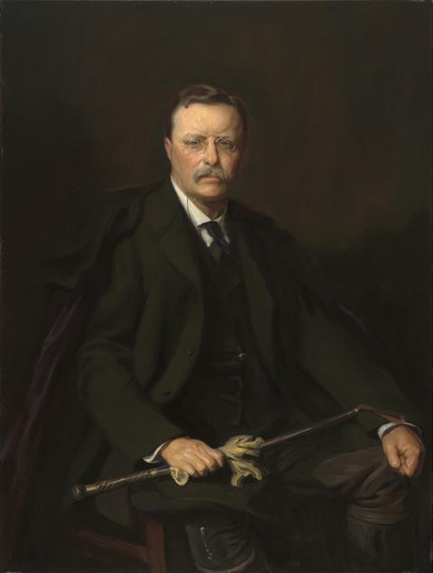 Teddy Roosevelt Portrait : teddy, roosevelt, portrait, Theodore, Roosevelt, National, Portrait, Gallery