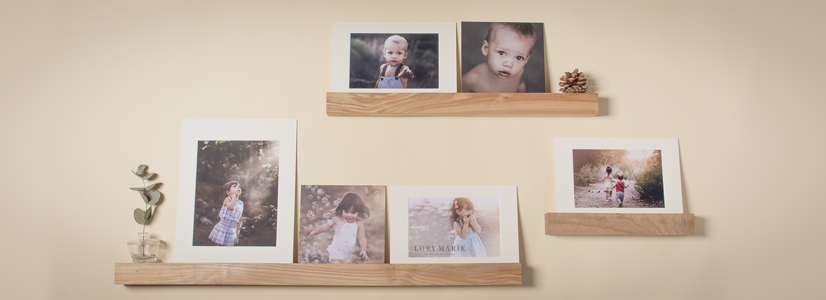 Wooden Photo Ledge Professional Printing Services