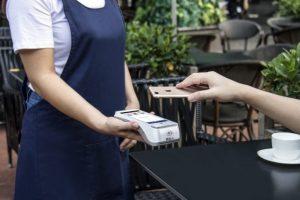 Apple pay card machine