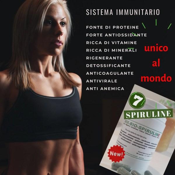 spirulina sistema immunitario