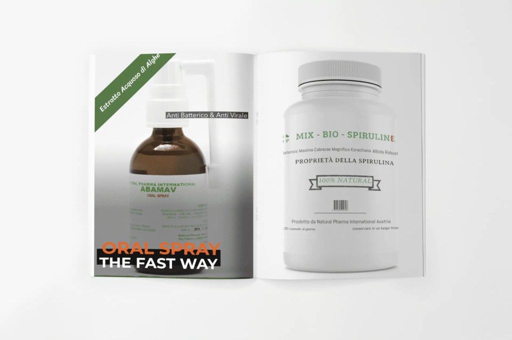 Oral Spray + Spirulina BioMix (pachetto risparmio)