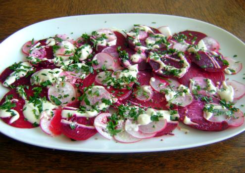 rabano-salada