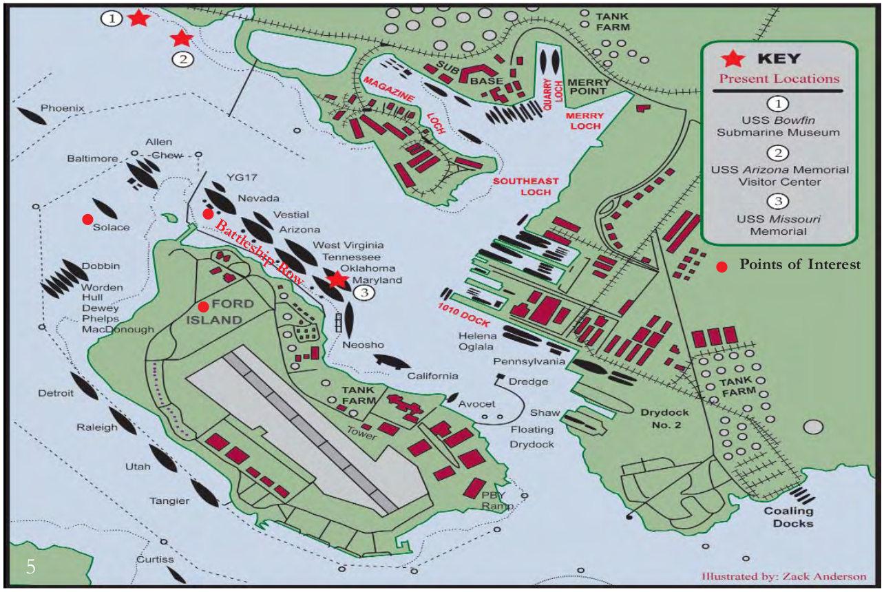 Pearl Harbor Maps Npmaps
