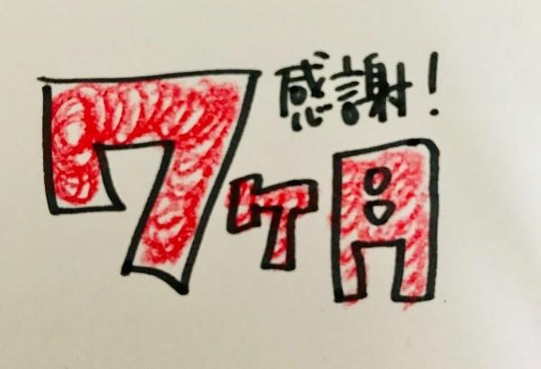 ユーザー数〇〇達成! ブログ運営報告7ヶ月