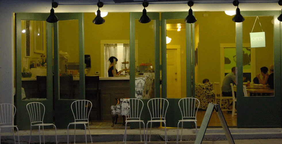 Coffee shop in North Portland