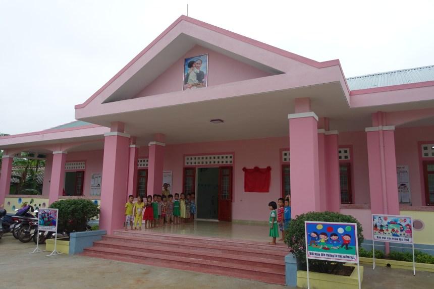 圖/至善基金會協助新建的校舍