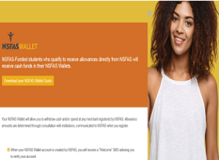How to create NSFAS Wallet for Successful Beneficiaries