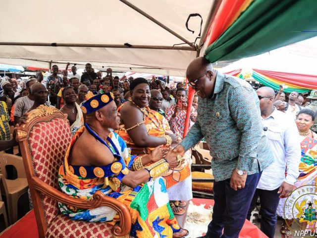 """""""DOUBLE TRACK SYSTEM BRILLIANT AND INNOVATIVE"""" – MANKESSIM PARAMOUNT CHIEF"""