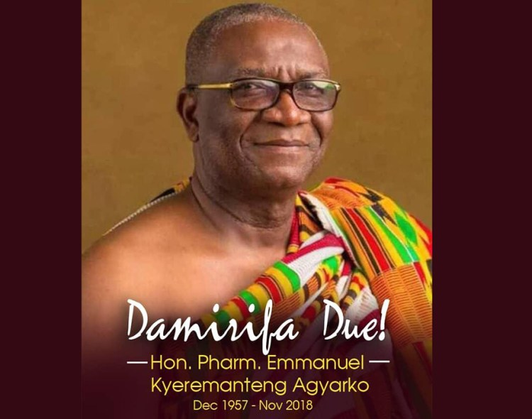 NPP-USA Mourns Honorable Emmanuel Kyeremateng Agyarko