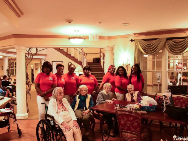 NPP-USA Patriotic Ladies Club gives back to the community at a nursing home in the US