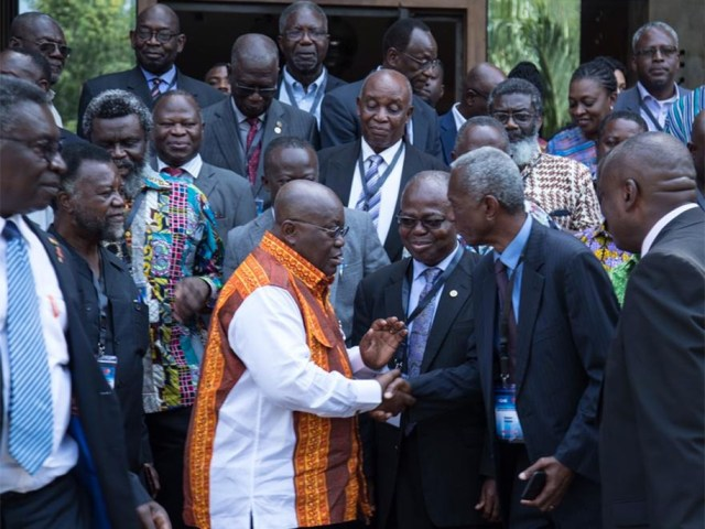 PRESIDENT AKUFO-ADDO OUTLINES GOVT'S PILLARS OF GROWTH FOR SCIENCE AND TECHNOLOGY