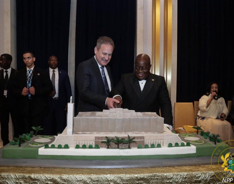 Fundraising Event for the Construction of the National Cathedral of Ghana Held in Washington, DC