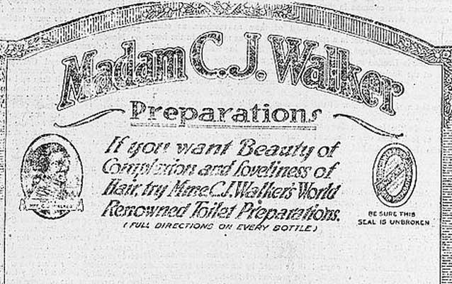 Two American Entrepreneurs: Madam C.J. Walker and J.C