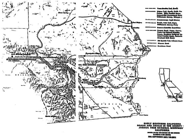 Joshua Tree NP: Native American Ethnography And