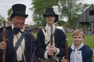 Our reenactors come in all ages, shapes, and sizes!