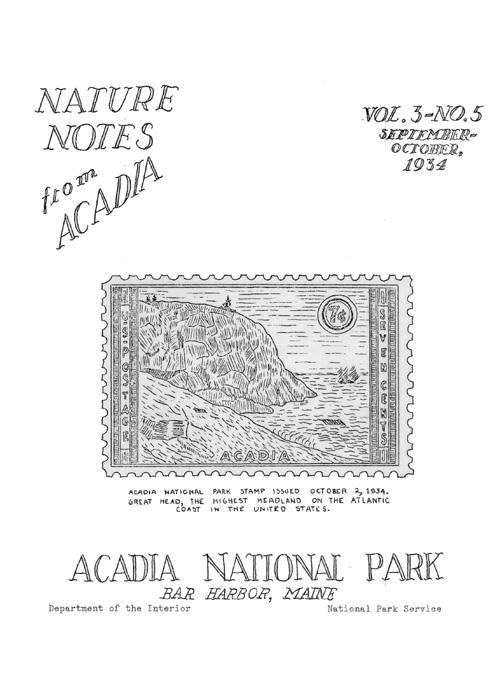 Acadia National Park (Nature Notes)