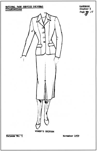 National Park Service Uniforms: Breeches, Blouses, and