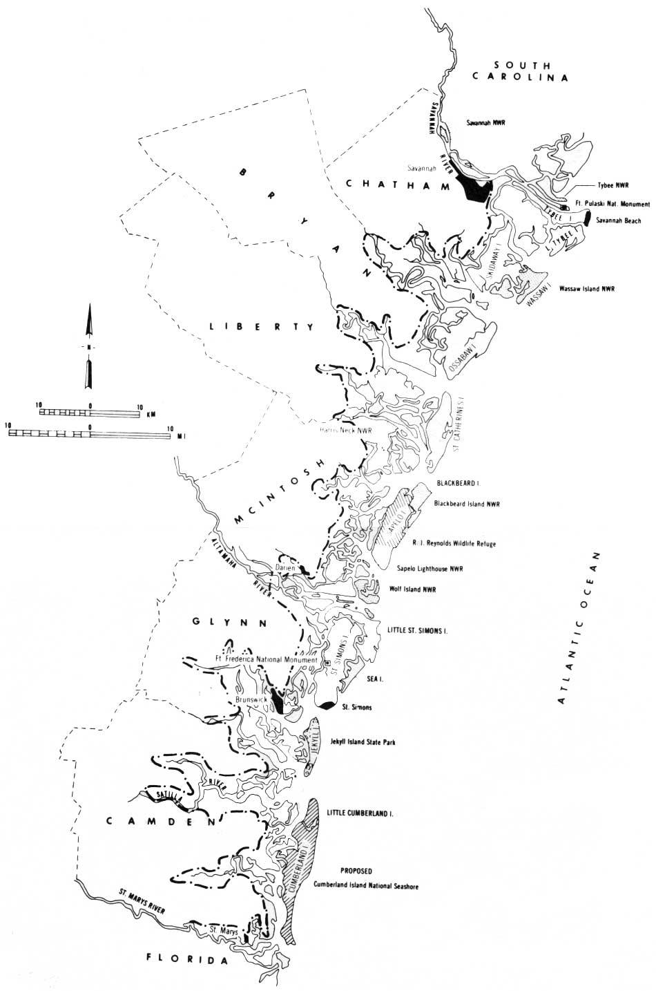 An Ecological Survey of the Coastal Region of Georgia