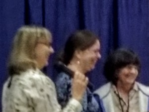 Suzanne Tuttle, Linda Knowles and Mary Curry.