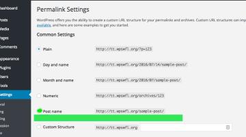 Getting search engine visiblity via WordPress Permalinks