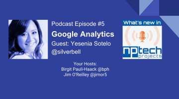 Yesenia Sotelo and Google Analytics