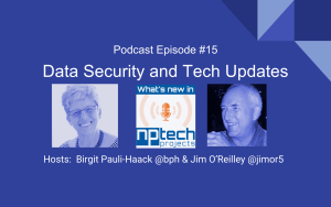 Episode 15 Data Security and Tech Updates Cover