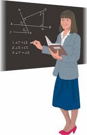 Gambar Guru Mengajar : gambar, mengajar, Gambar, Kartun, Perempuan, Sedang, Mengajar, Lengkap, Cikimm.com