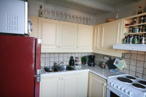 Kjøkken før