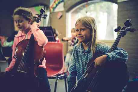 Youngest Cellists