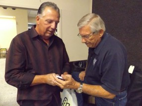 NUCA's Ted Pistone and Dick Schneider.