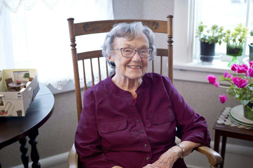 Meet Mary Newcomer, a 96-year-young recycling phenomenon