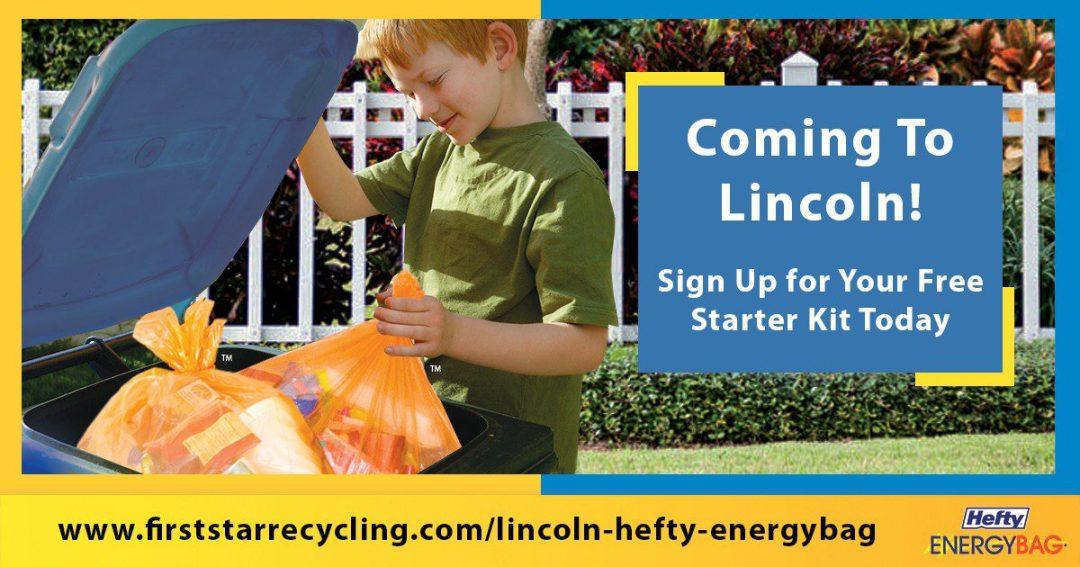 Hefty® EnergyBag® Comes to Lincoln