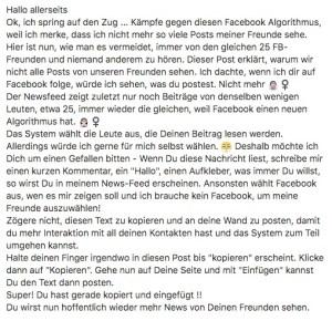 NOTREAL - Facebook-Hoax