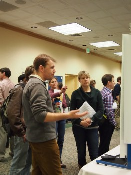 FRSES poster session.