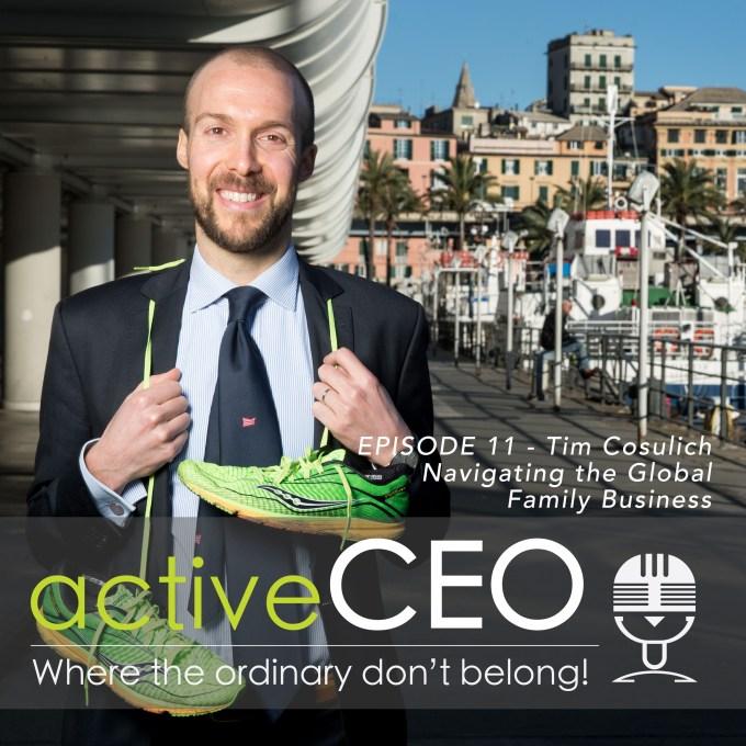 Tim Cosulich active CEO