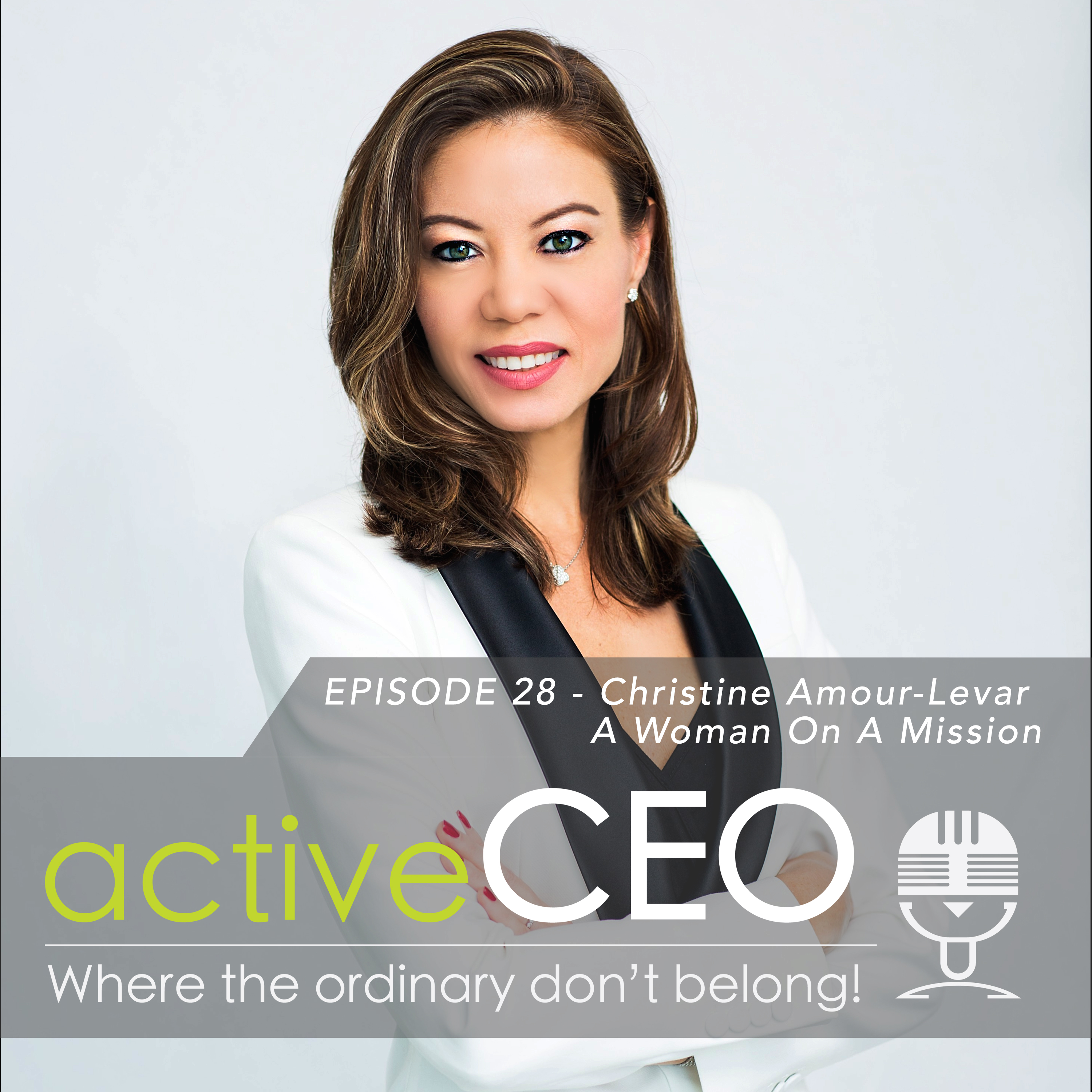 active CEO Podcast Christine Amour-Levar (HER Planet Earth) – A Women On A Mission