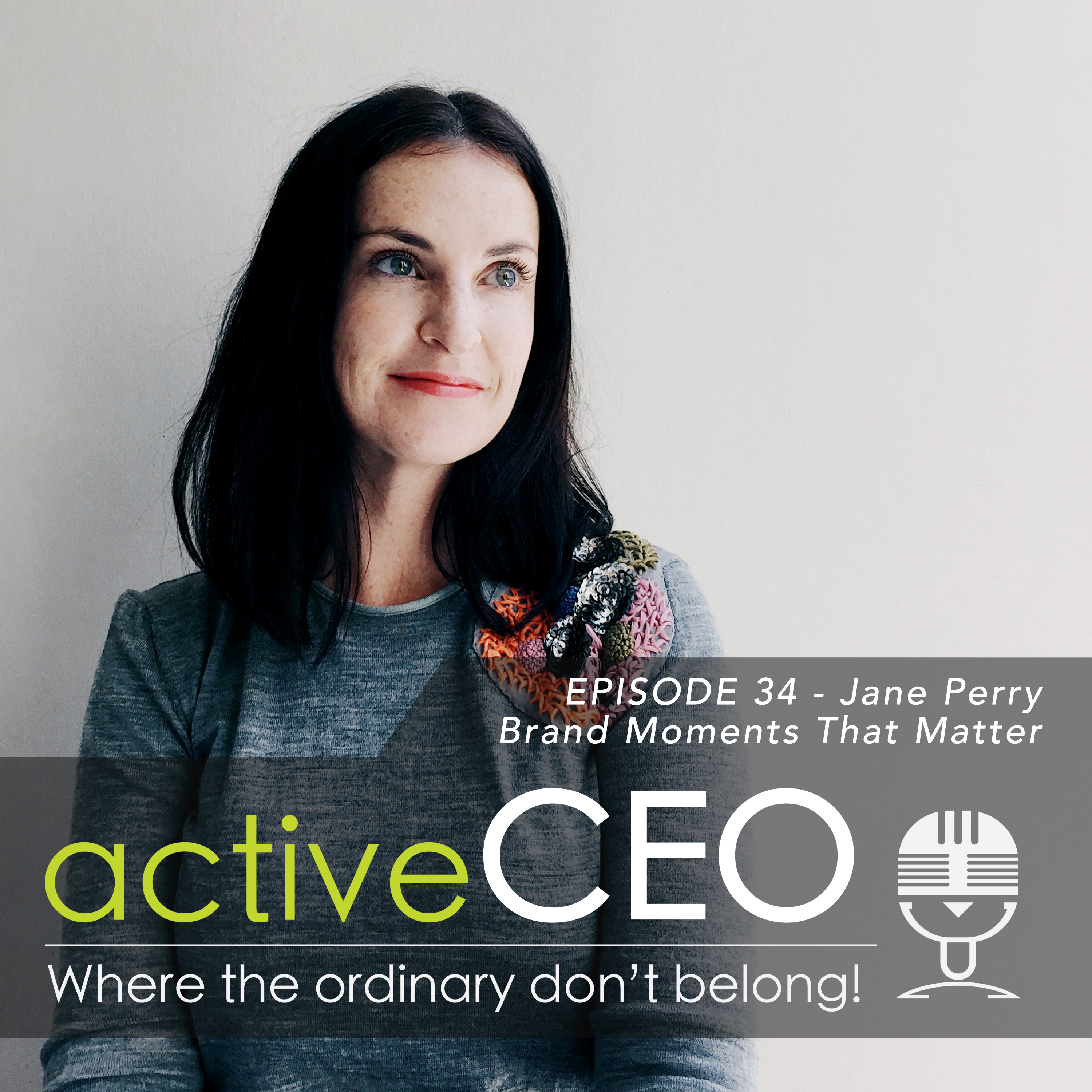 active CEO Podcast Jane Perry (Geometry Global) – Branding Moments That Matter