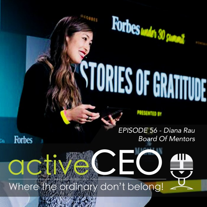 Diana Rau Board Of Mentors Veterati active CEO Podcast
