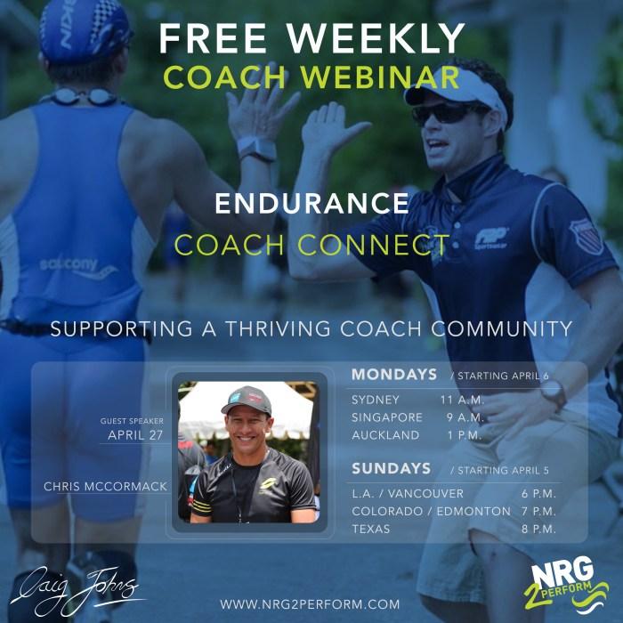 Chris Macca McCormack MX Endurance Endurance Coach Connect Craig Johns