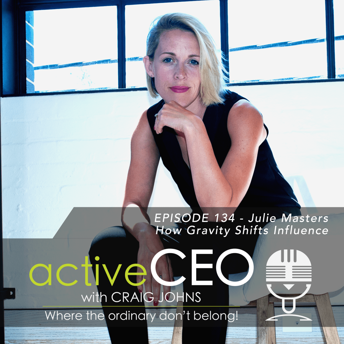 active CEO Podcast 134 Julie Masters How Gravity Shifts Influence