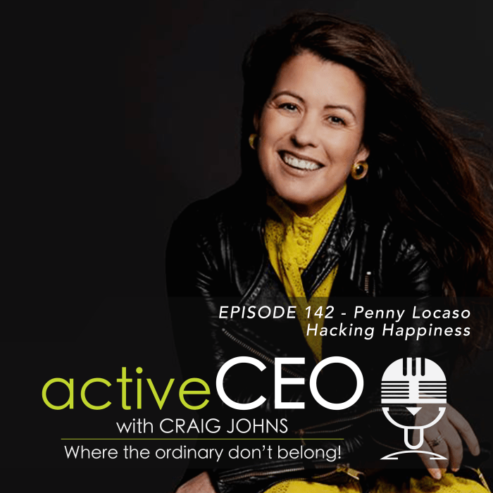 active CEO Podcast 142 Penny Locaso