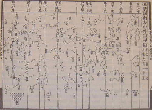 Chinese Star Map