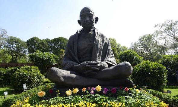 Gandhi Jayanti celebrated with politics over another jayanti