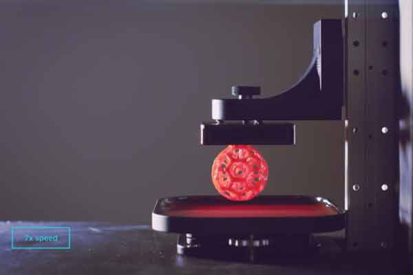 New 3D print technology by Carbon3D Inc; 100 times faster object printing