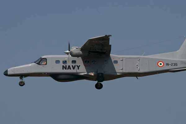 Navy Dornier ditches during a night training sortie off Goa