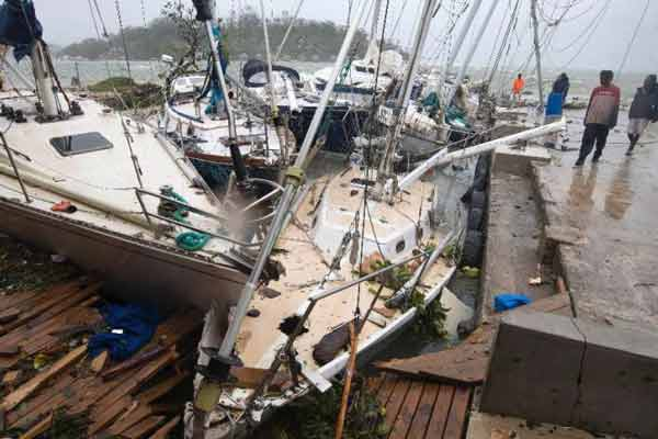 Cyclone Pam leaves trail of destruction in Pacific's Vanuatu; Dozens killed