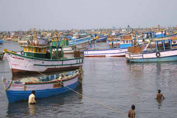 Sri Lanka arrests seven Indian fishermen