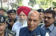 Rajnath Singh arrives in WB to assess situation along Indo-Bangladesh boarder